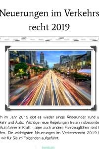 eBook Neuerungen im Verkehrsrecht