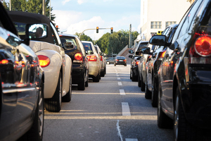 Luftverschmutzung durch den Schadstoff Feinstaub: Euro-2-Fahrzeuge dürfen nicht in die Innenstadt.