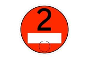 Die Umweltplakette Euro 2 erhalten Sie bei Schadstoffklasse 2.