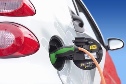 Beim Carsharing können auch elektronische Autos gefahren werden.