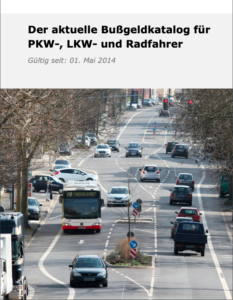 Download Bußgeldkatalog als PDF