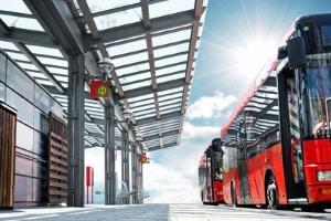Um Dieselfahrzeuge vom Fahrverbot zu verschonen, arbeiten manche Städte an Alternativen (z. B. Ausbau des ÖPNV).