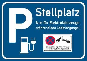 """Unberechtigtes Parken: Auf einem Elektro-Parkplatz könnte der Tatbestand """"Falschparken"""" erfüllt sein."""