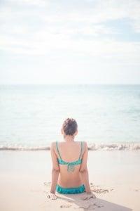Oben ohne: In Italien wird dies am Strand in Italien toleriert. FKK ist sogar verboten.