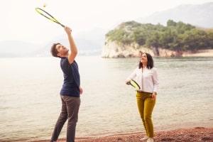 Einheitliche Regeln gibt es am Strand bezüglich einem Ballspiel oder ähnlichen Sportarten nicht.
