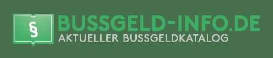 Bussgeld-Info.de – Bußgeldkatalog 2021 header image