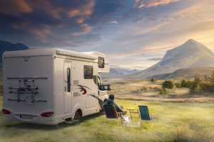 Wohnmobil: Überladen in den Urlaub zu starten, kann gefährlich werden.