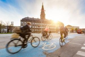 Fahrverbot in Dänemark: In der Umweltzone dürfen Dieselfahrzeuge über 3,5 t nicht fahren.