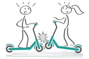 Für den E-Scooter muss eine Versicherung abgeschlossen werden.