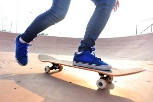 Wo ist es erlaubt, Skateboard zu fahren?