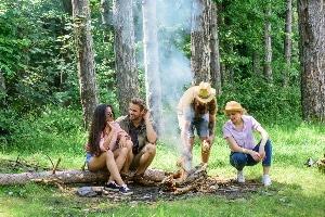 Falsches Verhalten: Wer im Wald nicht vorsichtig ist, muss mit Bußgeldern rechnen.