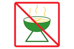 Die Waldbrandstufen können verschiedene Verbote mit sich bringen.
