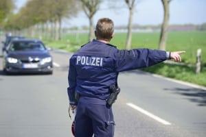 Bei welchen Verfehlungen wendet die Polizei den Strafenkatalog an?