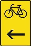 Zeichen 422-16: Umleitung für Radfahrer
